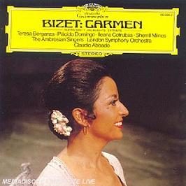 Carmen: excerpts, CD