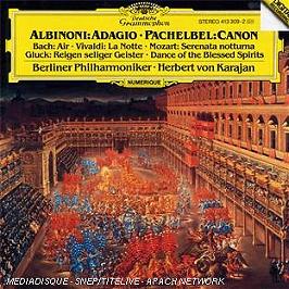 Albinoni : adagio - Pachelbel : canon, CD