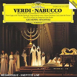 Nabucco (extraits), CD