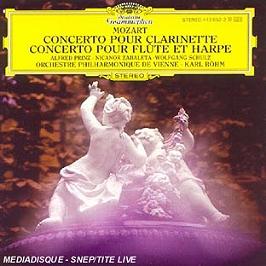 Clarinet concerto k.622; flute & harp concerto k.299, CD
