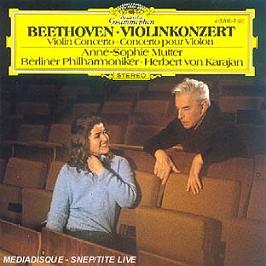 Concerto pour violon, CD