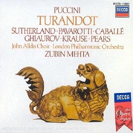 Turandot, CD