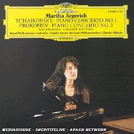Tchaikovsky: piano concerto no.1 / Prokofiev: piano concerto no.3, CD