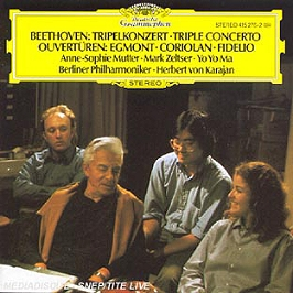 Beethoven: triple concerto; overtures, CD