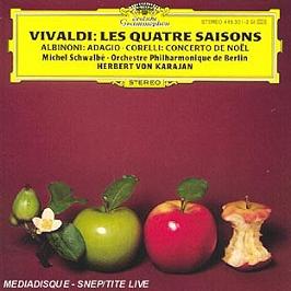 Vivaldi: le quattro stagioni / Albinoni: adagio / Corelli: christmas concerto, CD