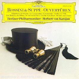 Rossini & Suppe Ouverturen, CD