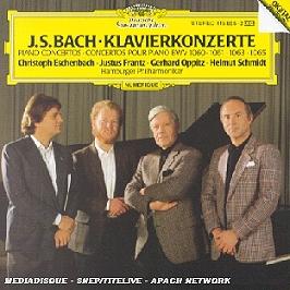 Klavierkonzerte Bwv 1060-1061-1063-1065, CD