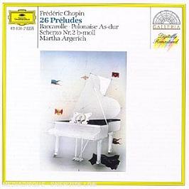 24 Préludes Op. 28;Polonaises 6;Scherzo 2;Barcarolle Op. 60, CD