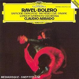 Bolero - Rapsodie Espagnole - Ma Mere L'Oye - Pavane, CD