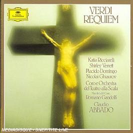 Messa Da Requiem, CD