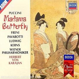 Mme Butterfly, CD