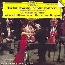 Tschaikowsky-Concerto Pour Vio, CD