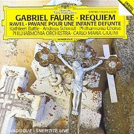 Requiem Pavane Pour Une Infante, CD