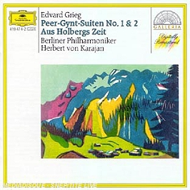 Peer Gynt;Suite 1 Et 2;Suite Holdberg, CD