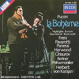 La boheme, CD