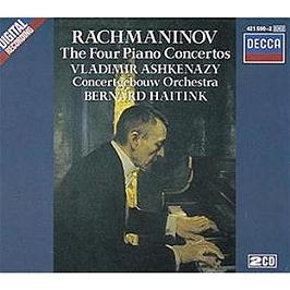 The Four Piano Concertos, CD