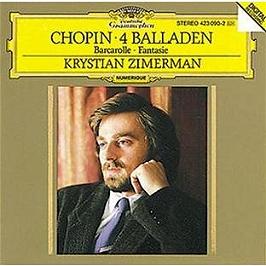 4 ballades - barcarolle - fantaisie, CD