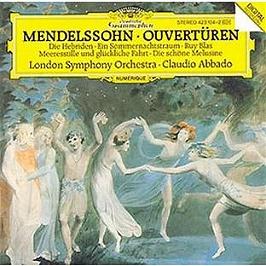 Ouverturen:Die Hebriden;Ein Sommernachtstraum;Ruy Blas;Meeresstille Und Gluckliche Fahrt..., CD