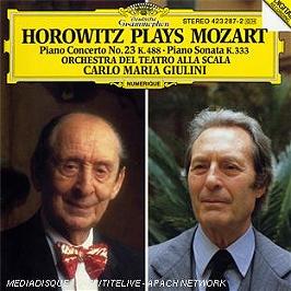 Concerto pour piano n°23 - Sonate pour piano k.333, CD