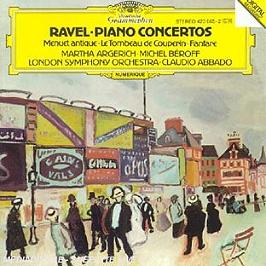Ravel Piano Concertos, CD
