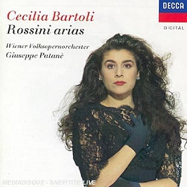 Rossini arias, CD