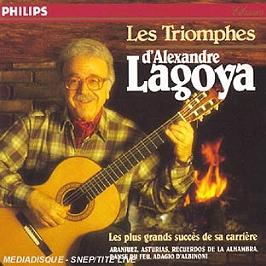 Les Triomphes D'Alexandre Lagoya, CD
