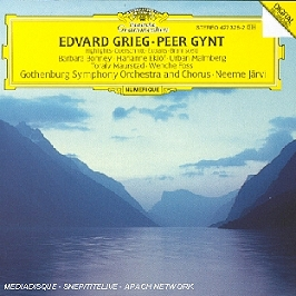 Peer Gynt (Extraits), CD