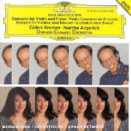 Concerto For Violin & Piano;Violin Concerto In D Minor, CD