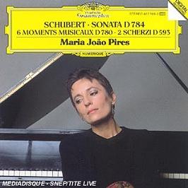 6 moments musicaux d 780, CD