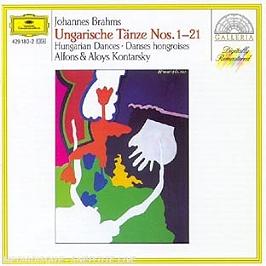 Danses Hongroises Pour Piano A 4 Mains, CD