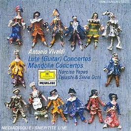 Concertos Pour Guitare, Mandoline & Viole D'Amore, CD