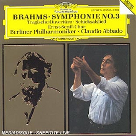 Brahms-Symphonie N 3-Ouverture, CD