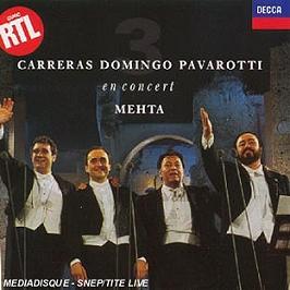 Les 3 Tenors En Concert A Rome, CD