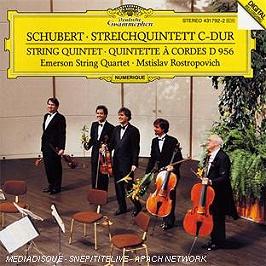Quintette à cordes d956, CD