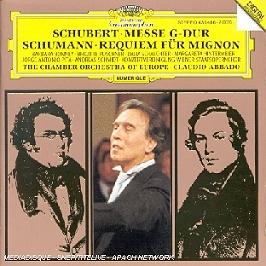 Messe G-Dur;Requiem Fur Mignon, CD