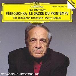 Pétrouchka, Le Sacre Du Printemps, CD