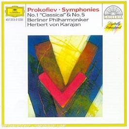 Symphonies N 1, 5, CD