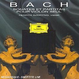 Bach Js-Sonates Violon&partita, CD