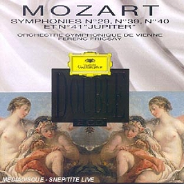 Symphonies n°29, 39, 40, 41, CD