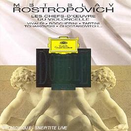 Les Chefs-D'Oeuvre Du Violoncelle, CD