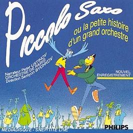 Passeport pour piccolo, saxo & cie, CD