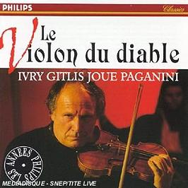 Le Violon Du Diable-Gitlis Joue Paganini, CD