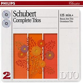 Intégrale des trios, CD