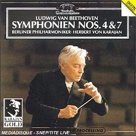 Symphonies n 4 & 7, CD