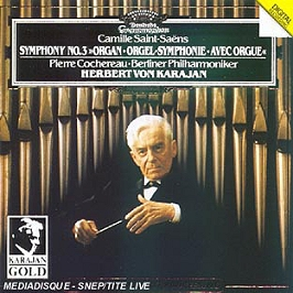 Symphonie n°3 avec orgue - l'ascension, CD