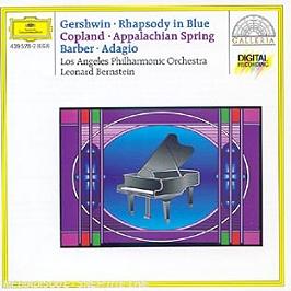 Rhapsody In Blue;Appalachian Spring;Adagio, CD