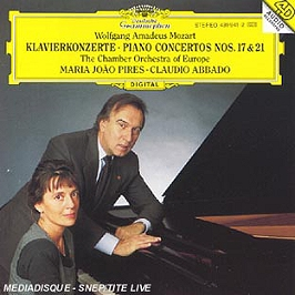Mozart-Concertos Piano N 17&21, CD