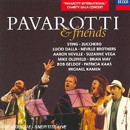 Pavarotti & friends, CD