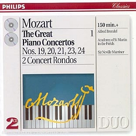 The Great Piano Concertos Vol 1, CD