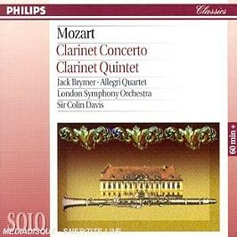 Concerto Pour Clarinette K.622 - Quintette Pour Clarinette K.581, CD